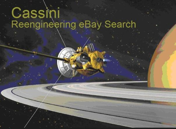 Cassini - Reengineering eBay Search