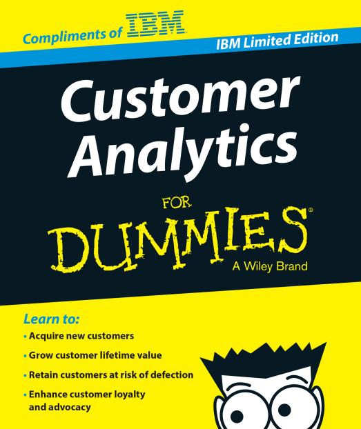 Customer Analytics for Dumies
