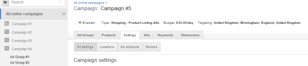 Google Shopping Location Settings - Step 3