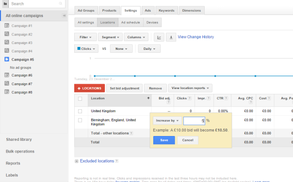 Google Shopping Location Settings - Step 5